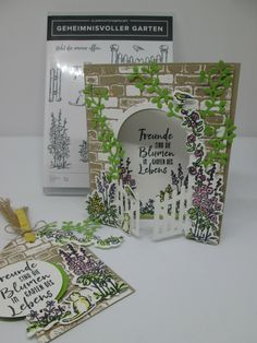 Stampin' Up! Card Making Tips, Making Ideas, Flip Cards, Garden Crafts, Stamping Up, Cool Cards, Flower Cards, Scrapbook Cards, Homemade Cards