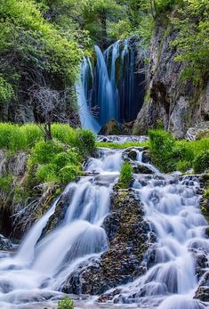 Roughlock Falls In Spearfish Canyon is a photograph by Chuck Haney. Source fineartamerica.com