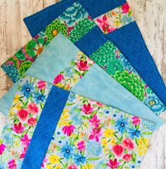 Green Placemats, Fabric Placemats, Fabric Coasters, Table Runner And Placemats, Placemat Sets, Table Runners, Large Flowers, Fabric Flowers, Kitchen Linens