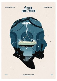Victor Frankenstein poster by Andrew Nedzvedsky