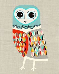 Luna by inaluxe #owl