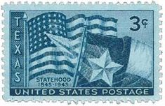 1945 USA Postage Stamps, Texas *** Discover this special offer, click the image : FREE Toys and Games Old Stamps, Rare Stamps, Vintage Stamps, Vintage Tools, Edelweiss, Commemorative Stamps, Postage Rates, Le Far West, Stamp Collecting