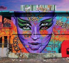 street art Madsteez in Santurce, Puerto Rico #streetart