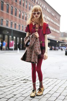 A History Of It Girls, Internet Edition #refinery29 this outfit is killer.
