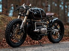 CAFE RACER instagram.com/caferacergram 'Black Stallion' single saddle BMW R100 by NCT-Motorcycles | Photo by Peter Pegam - P78