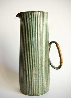Retro Pottery Net: Lovemose - Løvemose -Denmark, pouring vessel