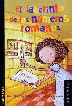 Lucía y Bruno se internan en una vieja casa deshabitada: la casa de los ojos. A lo largo de sus pasillos laberínticos alguien ha escrito palabras y números sobre la pared. Descubrirán que realmente las letras son números romanos y tras ellos se esconde un mensaje secreto.     En esta aventura, Lucía resuelve divertidos retos matemáticos y conoce a enigmáticos personajes. Entre ellos, un perro que sabe leer y una bruja con una bola de cristal mágica.