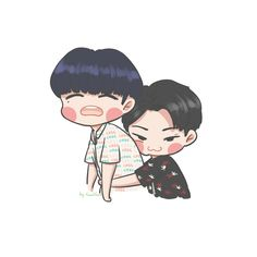 Let's me hug you babe #JeaBum # Yugyeom