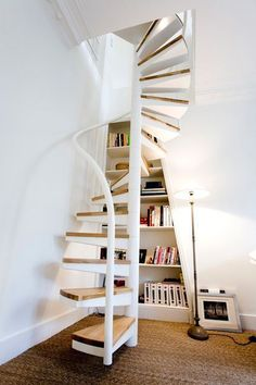 Ideas for spiral stairs to attic staircase ideas