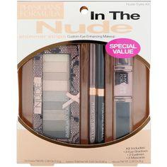 Physician's Formula, Inc., Shimmer Strips, Custom Eye Enhancing Makeup, Nude Eyes Kit, 4 Pieces