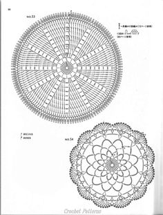 Crochet Doilies on crochet circle motif patterns