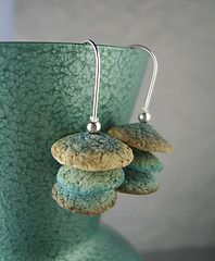 earrings by Kim Cavender....  Love These!
