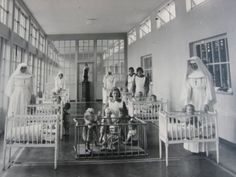 Nuns, children and mothers at Sean Ross Abbey, Tipperary