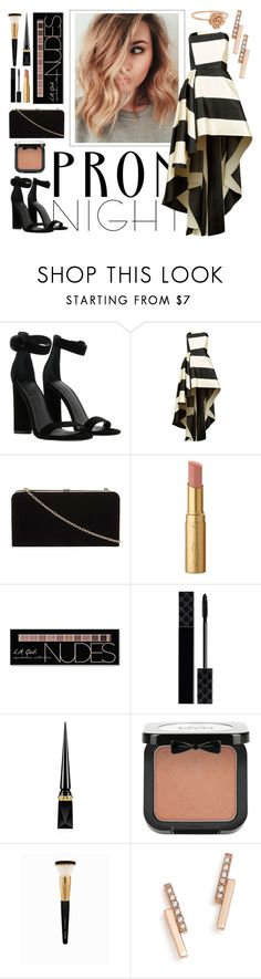 """""""Prom Night"""" by stilldiscovering ❤ liked on Polyvore featuring Kendall + Kylie, La Mania, Dorothy Perkins, Too Faced Cosmetics, Charlotte Russe, Gucci, Christian Louboutin, NYX, ZoÃ« Chicco and Prom"""