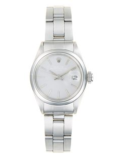 Rolex Stainless Steel Date Watch, 27mm