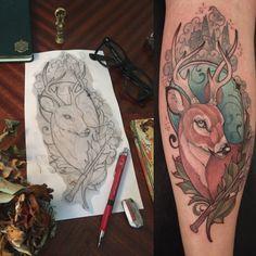 Harry Potter Tattoo by Santi Bord