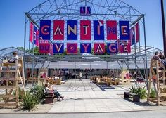 Heading to Paris? Make a Weekend Trip to Nantes - Vogue Directional Signage, Wayfinding Signage, Signage Design, Week End En Famille, Camping Places, Camping Car, Paris Travel Guide, Architecture Images, Exhibition Booth Design
