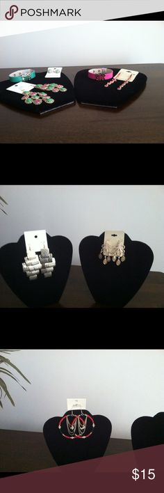 Earring and bracelets Earring and bracelets Accessories