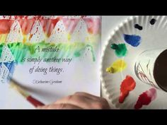 Video Tutorial: Easy Watercolor Quotes Wall Art