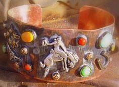 Copper Bronc Bracelet! <3 Bucking Horses