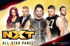 Make sure you tune in after #Raw for an all star @WWENXT panel @WWENetwork