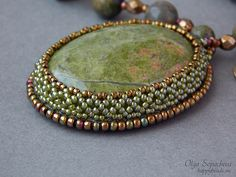 Pendant 'Summer' | favorite beads