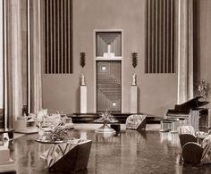 1930's glamor room design ideas -                                                                                                                                                                                 More