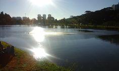 Sunset in Bacacheri Park, Curitiba...