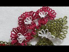 Üçlü çiçek #iğneoyasımodeli yapımı - YouTube Diy And Crafts, Christmas Wreaths, Make It Yourself, Holiday Decor, Youtube, Blog, Herbs, Blogging, Youtubers