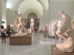 Naples National Archaeological Museum. Must see the secret cabinet.. lol.
