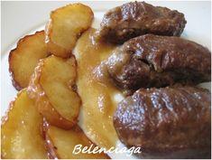 Carrilleras con manzana - Belenciaga paso a paso