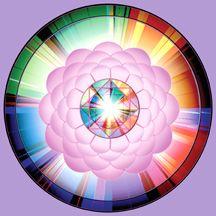 "Clare Goodwin's Mandala Page  ""Jewel of Wisdom"""