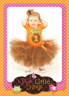 If we ever get blessed with a daughter, I think Eric would want this as an outfit for her, lol. Reese Birthday Party Outfit Embroidery Applique Design Reese's
