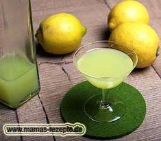 Rezept Limoncello – Zitronenlikör   Mamas Rezepte - mit Bild und Kalorienangaben