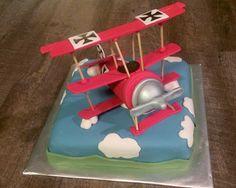 Red Baron Airplane-Birthday-Cake