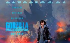 Legendary's MonsterVerse kicked off in 2014 with the Gareth Edwards-directed Godzilla, continuing last year with Jordan Vogt-Roberts' Kong: Skull Island. New Movies, Movies To Watch, Movies Online, Movies And Tv Shows, Family Movies, Skull Island, Millie Bobby Brown, Bradley Whitford, 3d Cinema