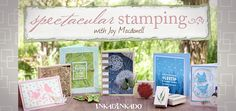 Click through to sign up for a FREE Online Class on Spectacular Stamping Techniques