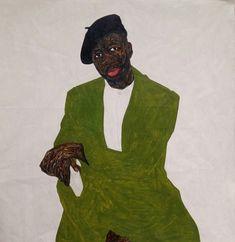 'Steven Onoja', 2018 by Amoako Boafo