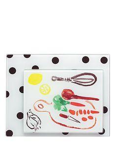 set of 2 food prep boards