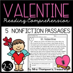 Help your students become more confident readers with these fun and interactive passages, all about Valentine's Day! These are perfect for helping students build stamina and fluency while finding text evidence and making inferences!.⭐ Includes 5 passages, each with 3 color coded text evidence ques...