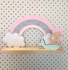 Pretty in Pine — Rainbow Dreams Shelf