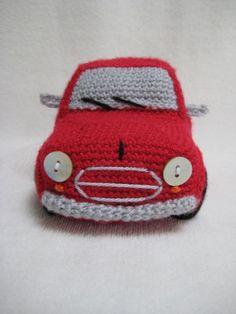 Amigurumi Classic Mini Cooper Inspired Car Crochet PATTERN PDF