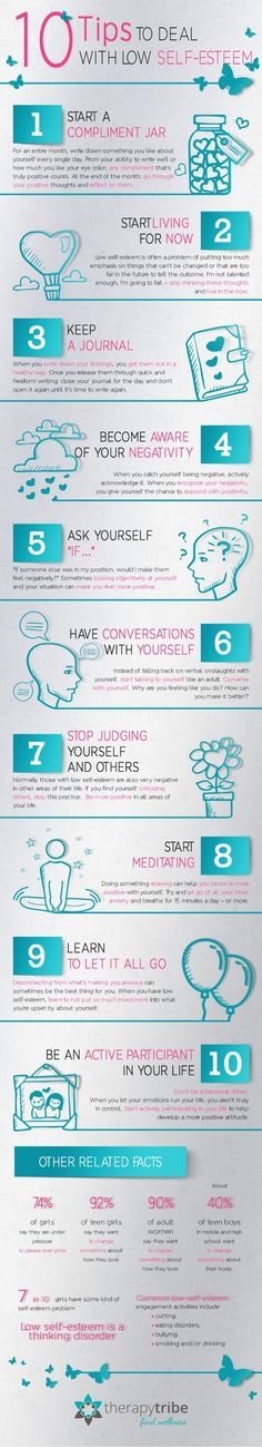 10 Tips To Deal With Low Self Esteem