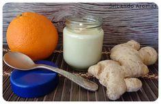 Silbando Aromas: Yogur de naranja y jengibre