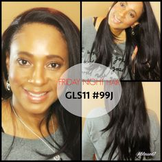 Friday Night Hair GLS11 #99J Synthetic Wig | Show N' Tell
