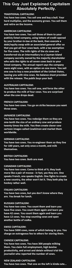 This Guy Just Explained Capitalism Absolutely Perfectly funny jokes story lol funny quote funny quotes funny sayings joke hilarious humor stories funny jokes capatalism You Have Two Cows, Thats The Way, Benjamin Franklin, The Funny, Freaking Hilarious, Laugh Out Loud, Make Me Smile, Just In Case, I Laughed