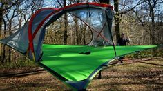 UK-based company Tentsile recently unveiled its smallest, lightest, and most affordable off-ground tent to date.