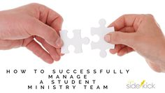 Discover how you can best manage your student ministry leadership team by…