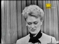 Eve Arden on What's My Line?