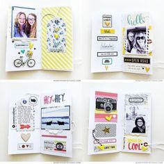 Notebook Sketches, Scrapbook Sketches, Scrapbook Albums, Notebook Ideas, Travelers Notebook, Mini Albums, Travel Journal Scrapbook, Art Journals, Travel Journals